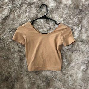 Nude American apparel crop top